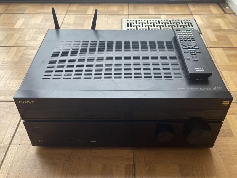 Sony STR-DN1070 7.2 Channel 100W AV Receiver - Black, Dolby Atmos, 4K, Spotify