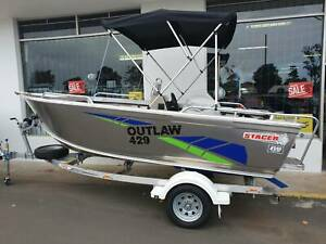 429 Outlaw side console, trailer & 50hp Mercury 4 stroke East Bunbury Bunbury Area Preview