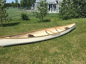 16ft Clearwater canoe