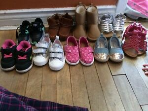 Girls toddler size 6 (shoes,boots, and sandals)