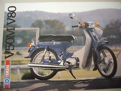 Yamaha V50M/V80 sales brochure