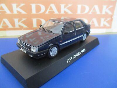 Die cast 1/43 Modellino Auto Carabinieri Fiat Croma 1985 blu