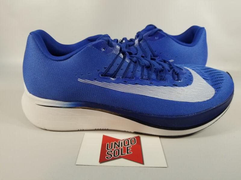 d7e1ca706d3e Nike Zoom Fly HYPER ROYAL BLUE WHITE 880848-411 sz 12 Running Shoes  Training Lab