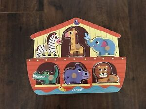 Janod Animal Wooden Puzzle