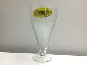 Grand verre bière tornade.   15$