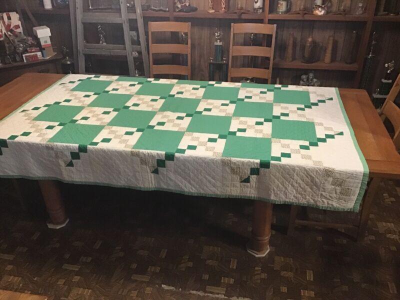 Vintage Quilt.....Irish Chain
