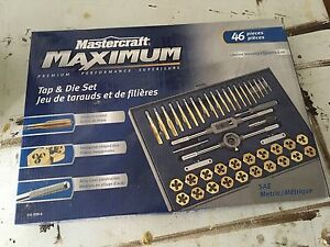 46 piece tap and die set