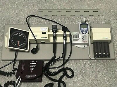Welch Allyn 767 Integrated Wall Diagnostic Set 11720 25020 Sure Temp Bp