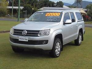 2012 Volkswagen Amarok DAULCAB 4WD Bungalow Cairns City Preview