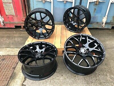 "Alloy Wheels DTM19"" BMW M2 Competition Style Staggered BLK BMW 3 Series F30 F31"