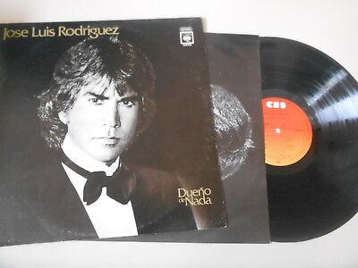 LP Klassik Jose Luis Rodrioguez - Dueno De Nada (10 Song) CBS MEXICO / OIS