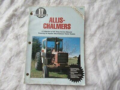 Allis Chalmers 7010 7020 7080 7045 180 190xt D-21 Tractor Service Shop Manual