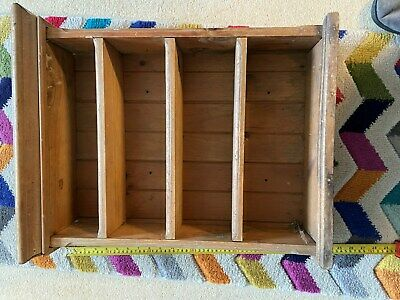 Antique pine display shelves for restoration