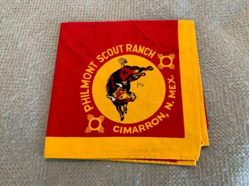 Vintage Boy Scouts Philmont Ranch Cimarron New Mexico Neckerchief