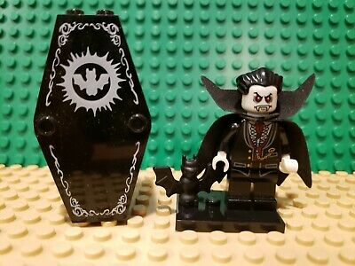 Lego Lord Vampyre with Cape and coffin 10228 9468