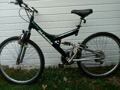 Magna creation full suspension Mans mountain bike in very good condition.