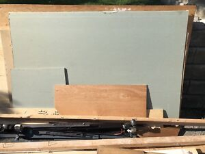 Free drywall and plywood