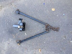 Weight Distribution Hitch and Bars