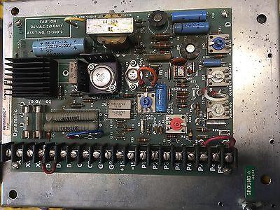 Eddydynamatic Current Clutch Control Used