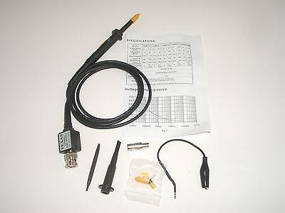 Mpj 15087te 200mhz Oscilloscope Scope 10x Probe Kit