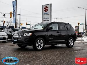 2012 Jeep Compass Sport 4x4 ~Heated Seats ~Fog Lamps ~Alloy Whee