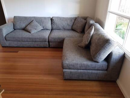 L Shaped Freedom Sofa/ Couch Great Condition