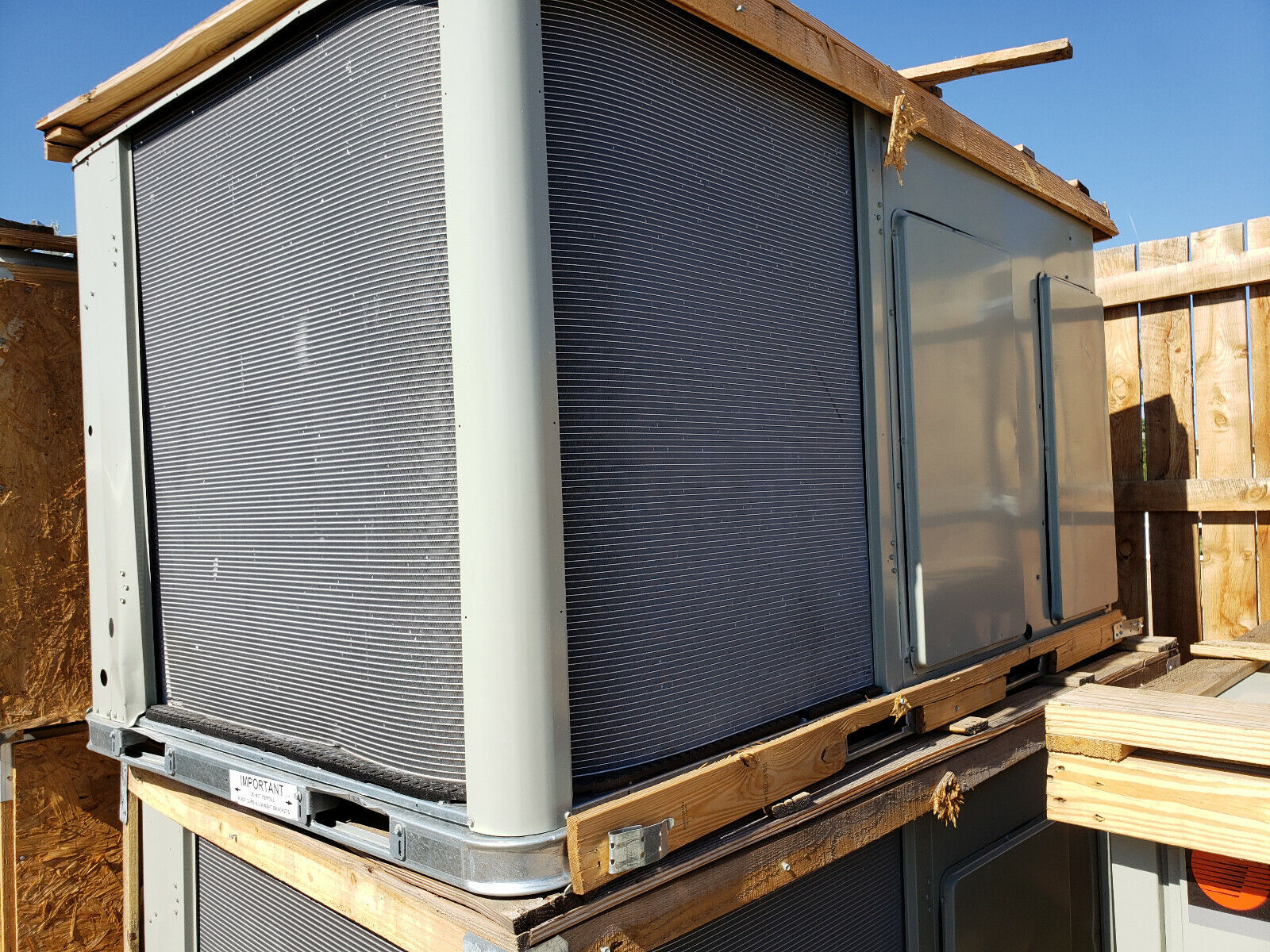 Trane 10 Ton CONVERTIBLE Combi Unit Forced Air Furnace With