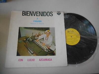 LP Ethno Lucho Azcarraga - Bienvenidos A Panama (12 Song) LEA / COSTA RICA