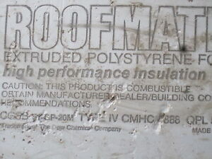 Expanded poly styrene foam Insulation R 20