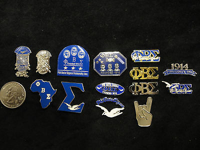 Phi Beta Sigma Lapel Pins Various Designs Look At The Pics
