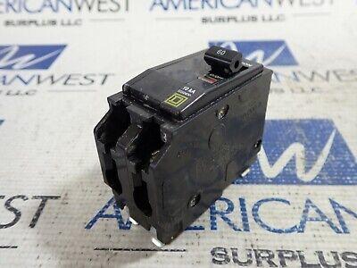 Square D Qo260 2 Pole 60 Amp 120240 Volt Plug In 10ka Qo Circuit Breaker