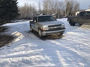 Chevy extended cab 2001 4x4