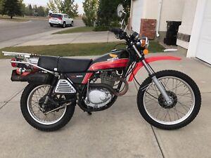 1978 Honda Xl 350