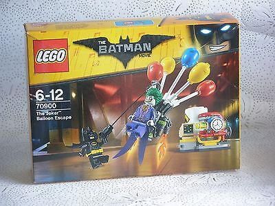LEGO 70900 BATMAN MOVIE - THE JOKER BALLOON ESCAPE BRAND NEW SEALED