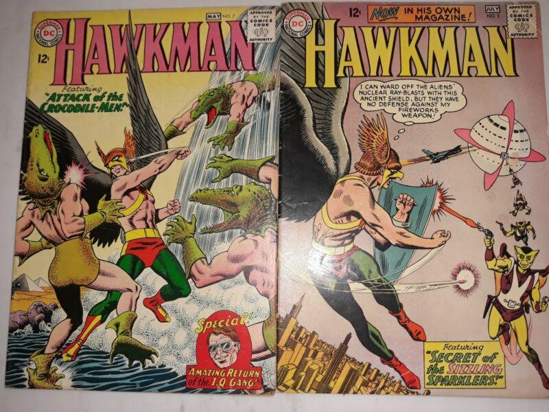 Hawkman #2 & #7 Murphy Anderson art