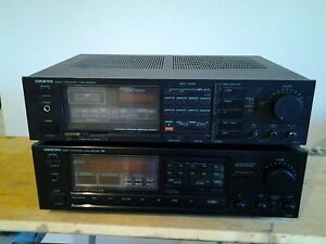 Pair of Onkyo stereo receivers
