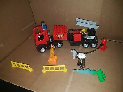 lego duplo fire truck vehicles + extras 261