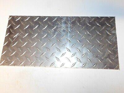 18 Thick Aluminum Diamond Tread Plate 7.5 X 15.75