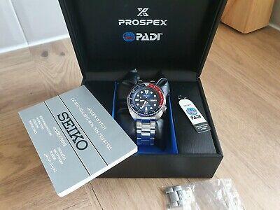 Seiko PADI Divers turtle prospex pepsi Automatic Watch SRPA21k1