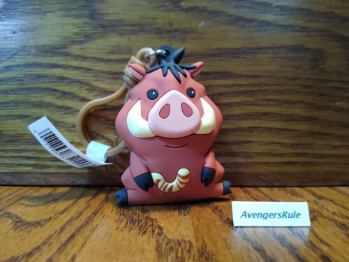 Disney The Lion King Figural Bag Clip Series 23 3 Inch Pumba