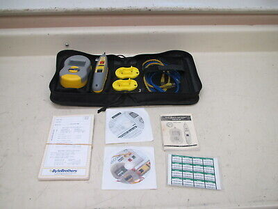 Bytebrothers Rwc1000 Real World Certifier Cable Tester Toner Probe Set Used
