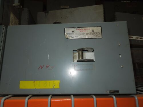 Cutler Hammer Uni-bus Hd1361nb 30a 3ph 4w 600v Fusible Bus Plug Used E-ok