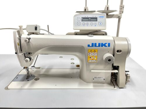 JUKI DDL-8700-7  INDUSTRIAL AUTOMATIC lockstitch sewing machine - NO SHIPPING