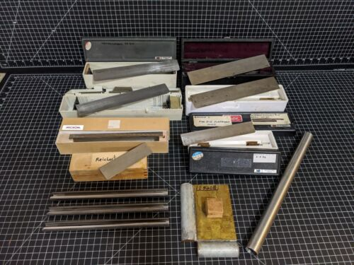 LOT Microtome Sectioning Knife Blades American Optical Microm Reichert Ice Block