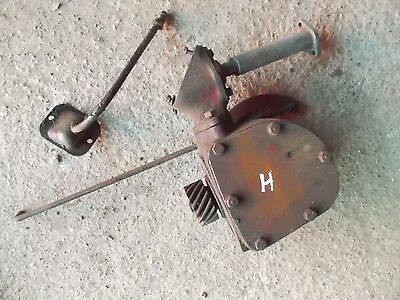 Farmall H Hv Early Sh Tractor Ih Engine Motor Governor Assembly Case Lnk Rod