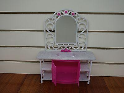 Gloria,Barbie Doll House Furniture/(94013) Bath Room Play Set