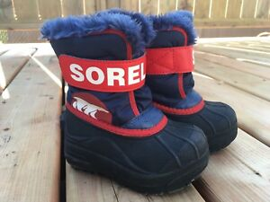 Bottes d'hiver SOREL Winter boots 7 petit garçon size 7 toddler