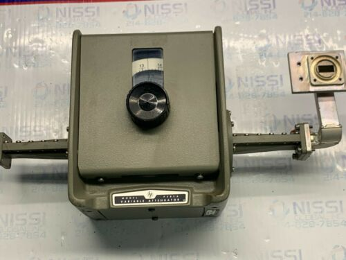 HP P382A VARIABLE ATTENUATOR