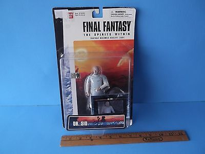 Final Fantasy The Spirits Within Dr Sid 5 In Figure Fantasy Becomes Reality 2000