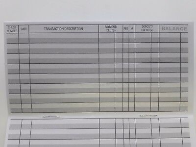 22 - Checkbook Transaction Registers - 2019-21 Calendar - Check Book Bank